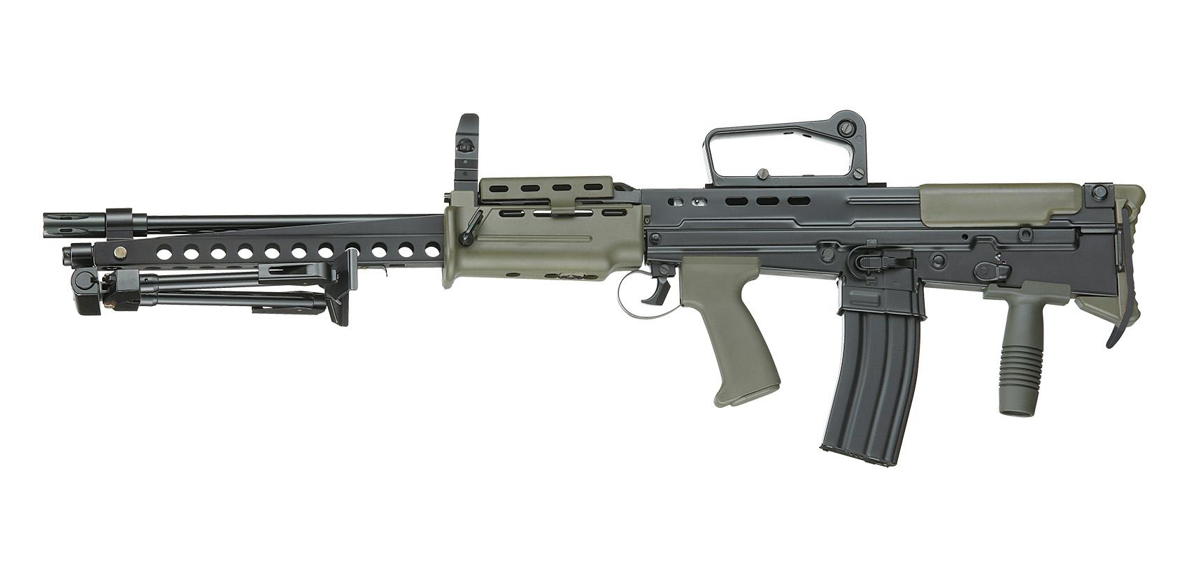 m249轻机枪_请问班用机枪和通用机枪有什么区别? - 知乎