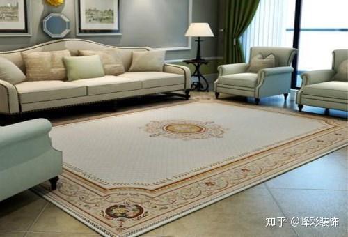 客厅茶几地毯效果图赏析 让你的客厅变得更有人情味