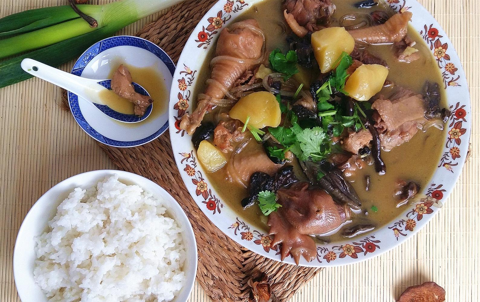 东北家宴头牌的味道 小鸡炖蘑菇