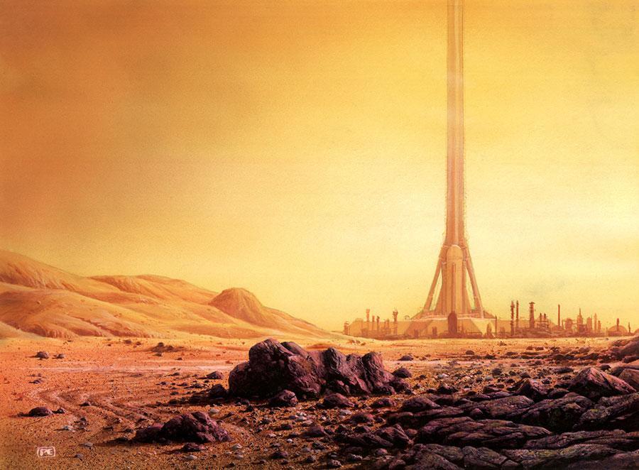 【历史设定】太空电梯与太空城市