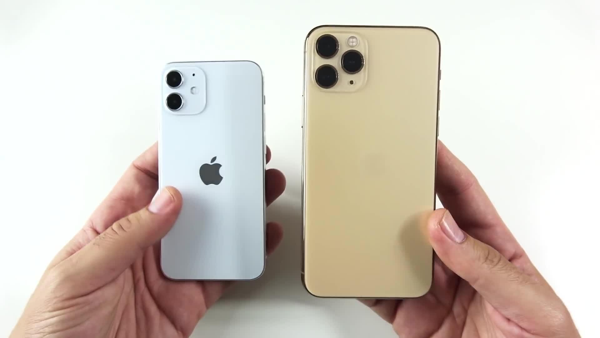 iPhone 12 Mini vs iPhone SE 2020 尺寸对比 - 知乎