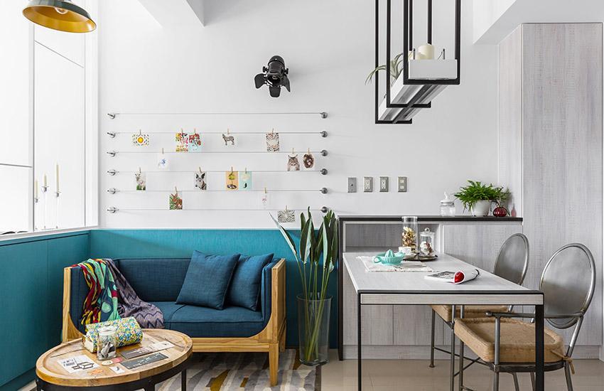 【合集】四个40平米小户型家居设计案例!