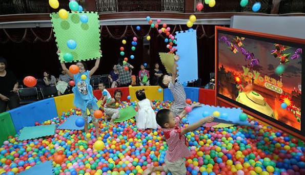 室内儿童游乐园设施,设备要定期清洗 加盟资讯 游乐设备第1张