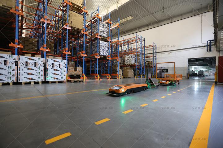 化工厂_智能制造工厂中的 AGV - 知乎