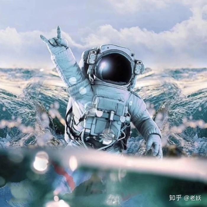 桃花期_|每日头像|那个宇航员系列 - 知乎