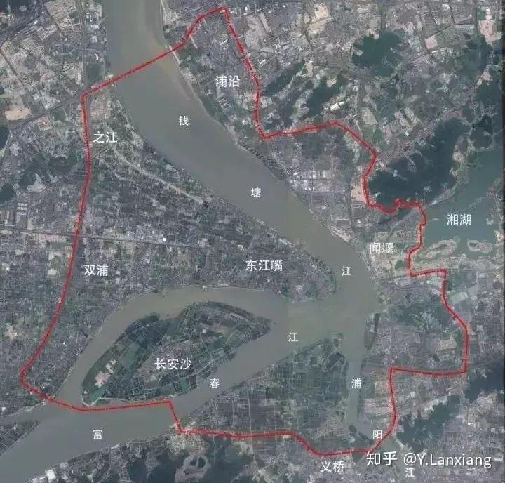 杭州市西湖区规划图_杭州接下来的城市开发中心发展到底是往东还是往西? - 知乎