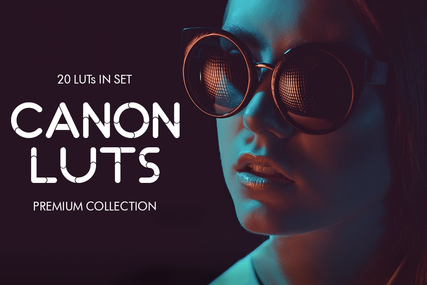 【P309】20组佳能Canon视频剪辑分级调色LUT预设  Canon video LUTs