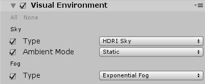 Unity Hdrp Sky