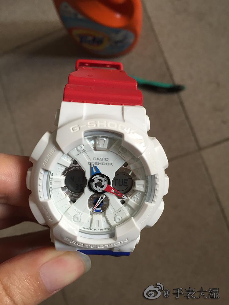 怎么看油表盘_卡西欧Gshock白色手表怎么保养以及清理?-知乎