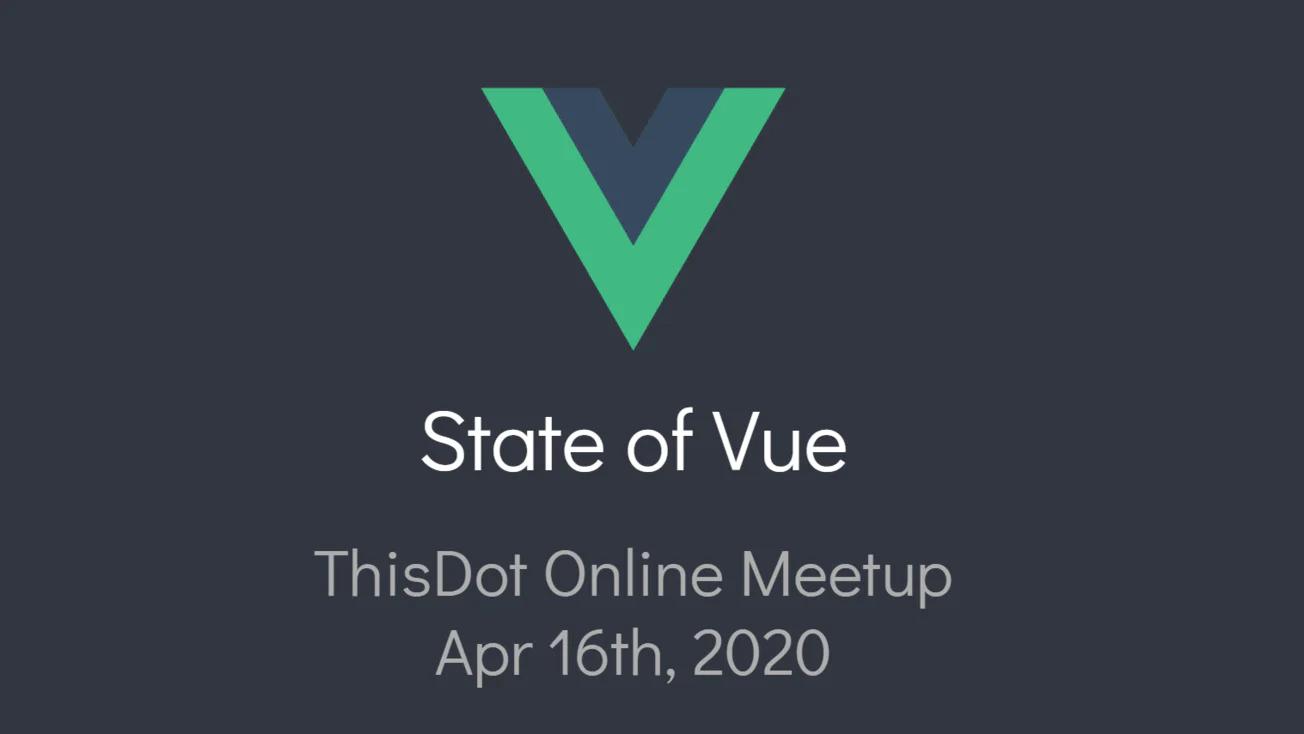 技术周刊 2020-04-21:Vue 3.0 Beta 来啦!