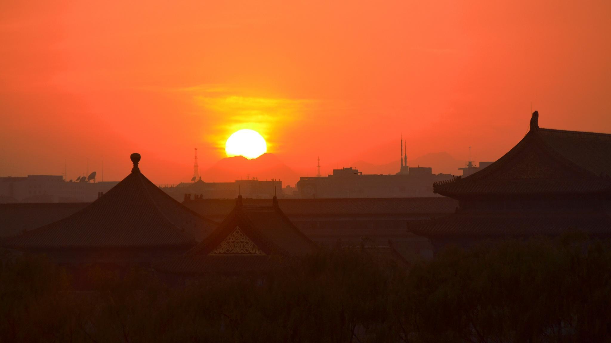 夕阳美中老_在北京一个人一天去哪玩比较好? - 知乎