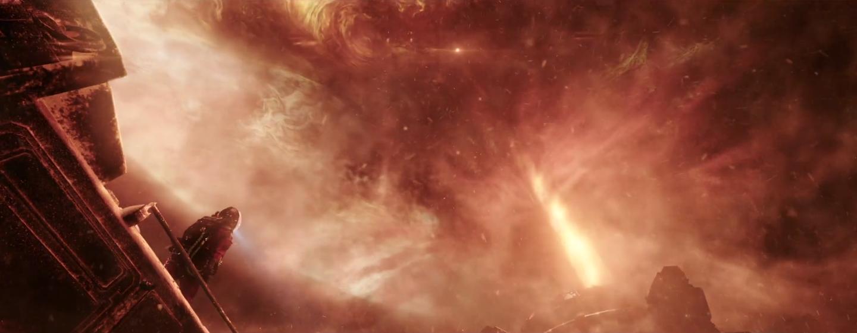 Притяжение Юпитера настолько велико, что оно притягивает Землю и начинает всасывать земную атмосферу. Фото для сайта блюскрин.кз. Источник иллюстрации: https://zhuanlan.zhihu.com/p/56258732