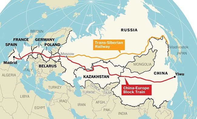 一带一路中国版全球化(1):开通新亚欧大陆桥│脫苦海