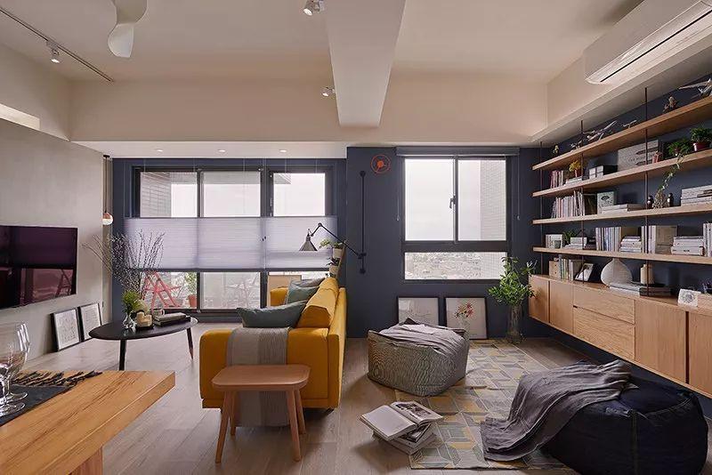 开放式书房客厅隔断_如何将书房和客厅结合起来装修? - 知乎