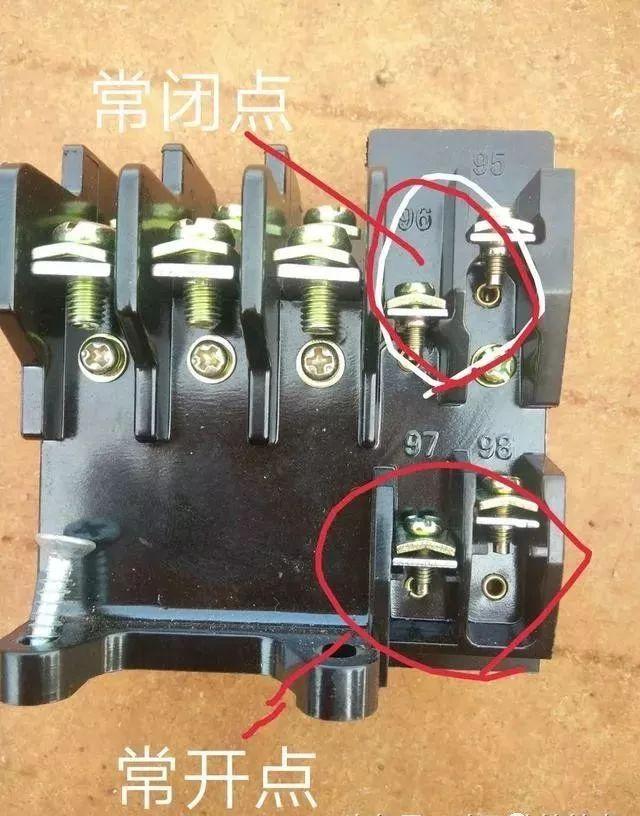 中间继电器和热继电器如何使用,怎么用来控制接触器