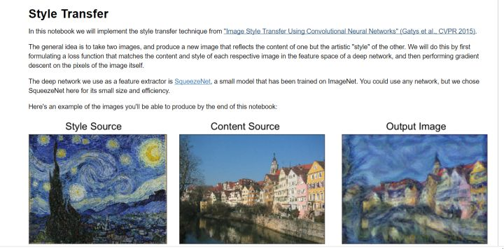 Cs231n Assignment3 -Network Visualization&Style Transfer&GAN