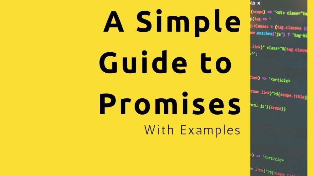 [译] 一个简单的 ES6 Promise 指南