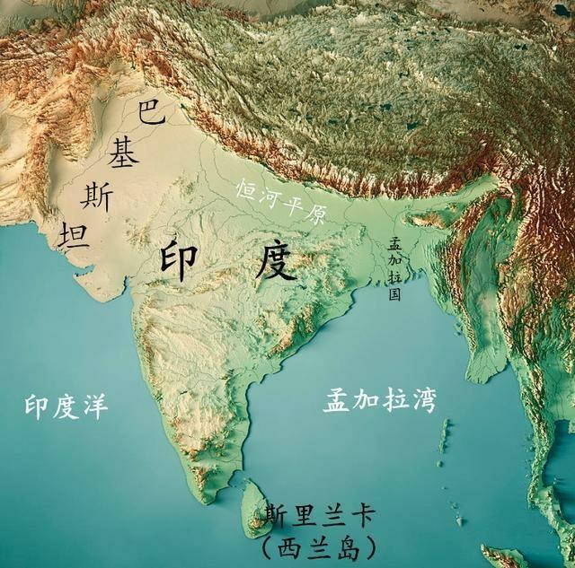 中国地图上黄河的位置_为什么印度的国际环境一直比中国的要好? - 知乎