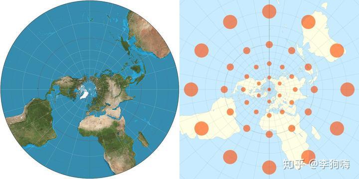 如何看待疫情地图的面积失真?