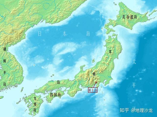 日本地?_日本第一高峰富士山 日本地处板块消亡边界的地理位置,不仅仅形成了