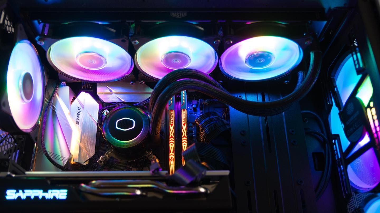 60帧观影追番,AMD这波真香:蓝宝石RX580+创新AE5+酷冷水电装机