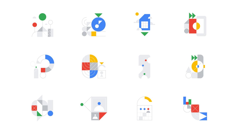 Google 与 Gunner 推出的最新意象图形系列