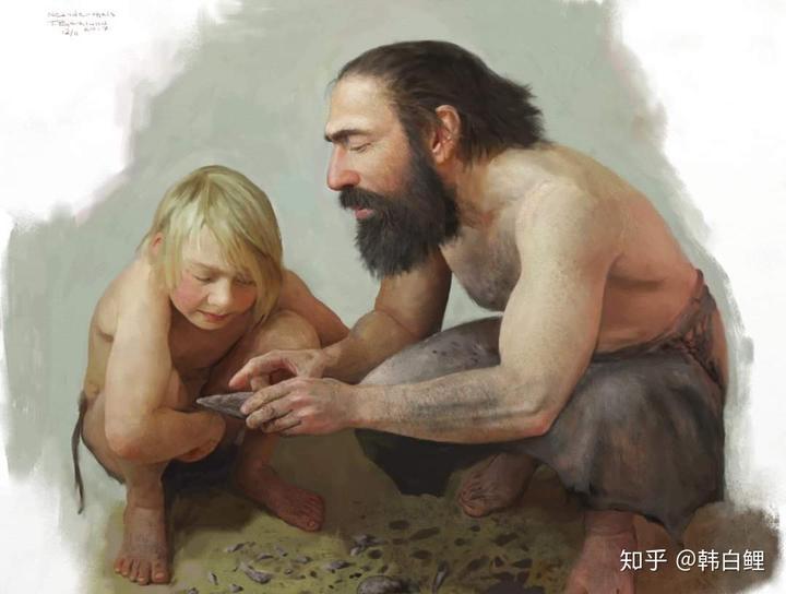 智人和尼安德特人之间为什么没有生殖隔离?