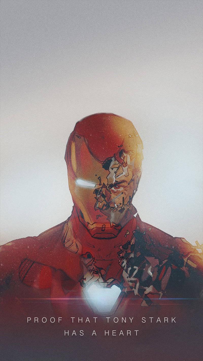 有哪些可以做手机、电脑壁纸的钢铁侠图片?