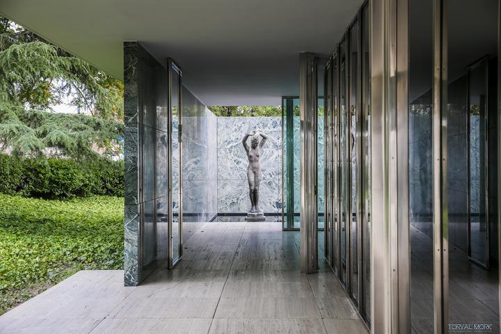 全球资讯_密斯·凡·德·罗丨巴塞罗那博览会德国馆 - 知乎