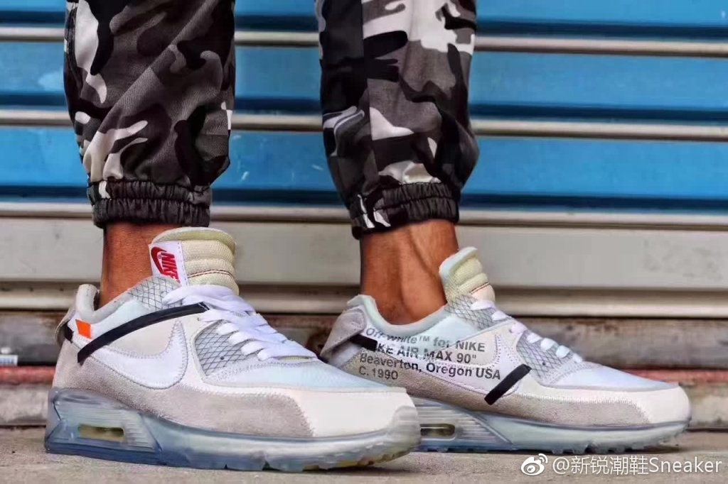 new concept 10382 53d9e 重磅联名OFF-WHITE x Nike Air Max 90 Ice 10X AA7293-100 - 知乎