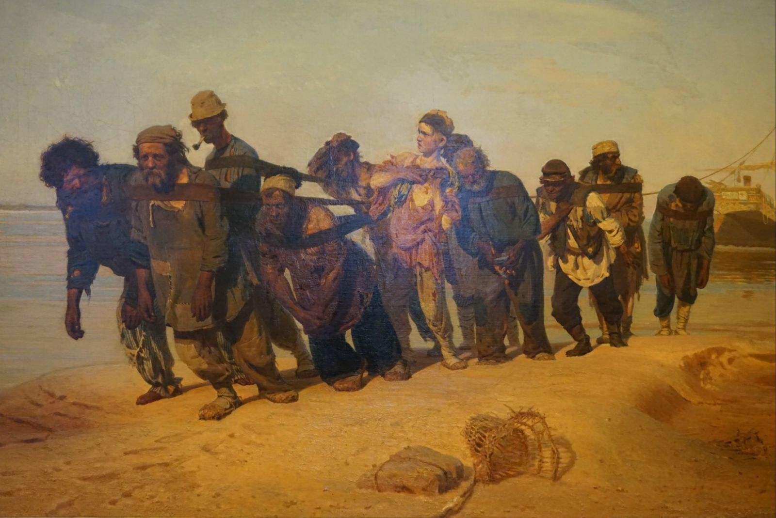 俄国人的名字_19世纪俄国社会记录者:那些批判现实主义画家列宾的事 - 知乎