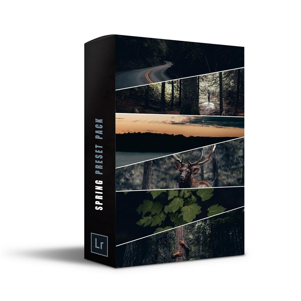【P295】INS网红油管大神Alen Palander春季旅拍预设Spring Pack – 12 Premium Presets