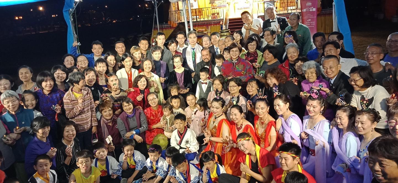 恆性嘉措仁波且受封世襲貴族子爵 台南西拉雅廣場舉辦周年慶祝晚會