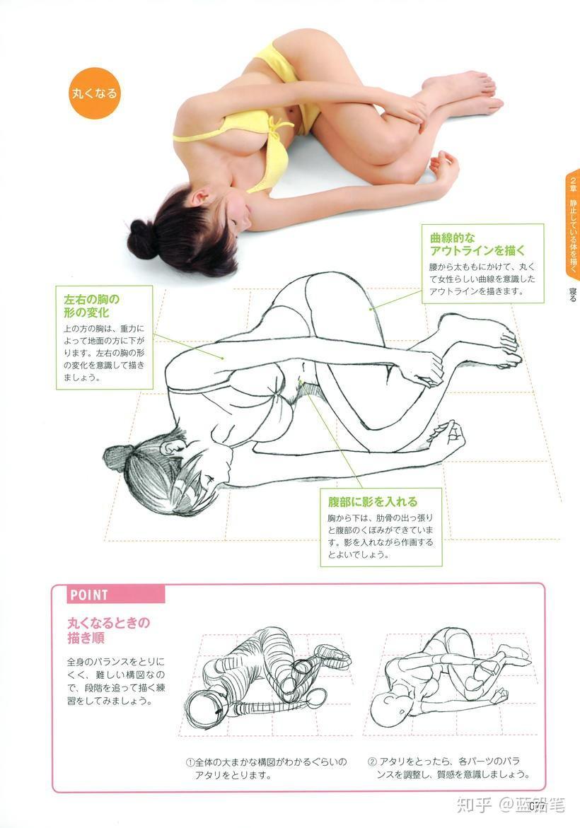 人体bb图_看完这篇,还怕不会画人体吗!超全面的人体姿势画法一览 ...
