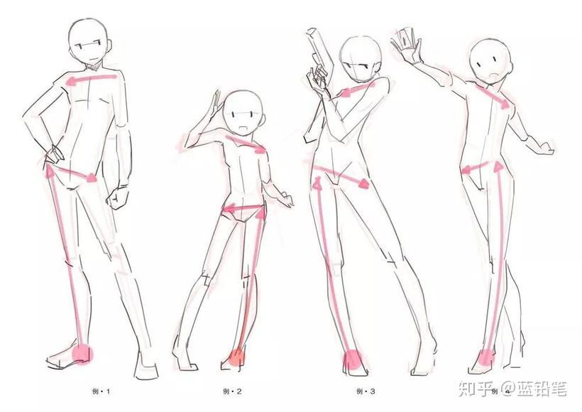 脚跟骨_看完这篇,还怕不会画人体吗!超全面的人体姿势画法一览 ...