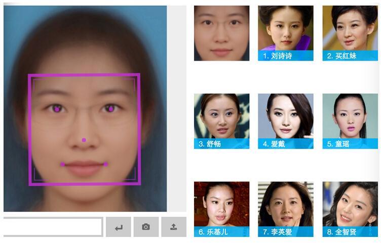 python程序生成平均脸