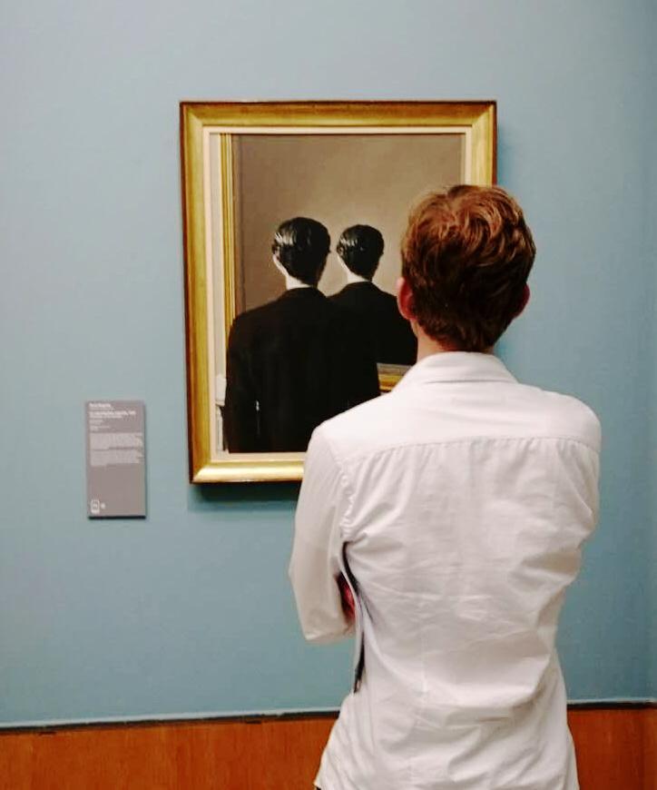 「1001幅世界名画」勒内·马格里特 解读画中画