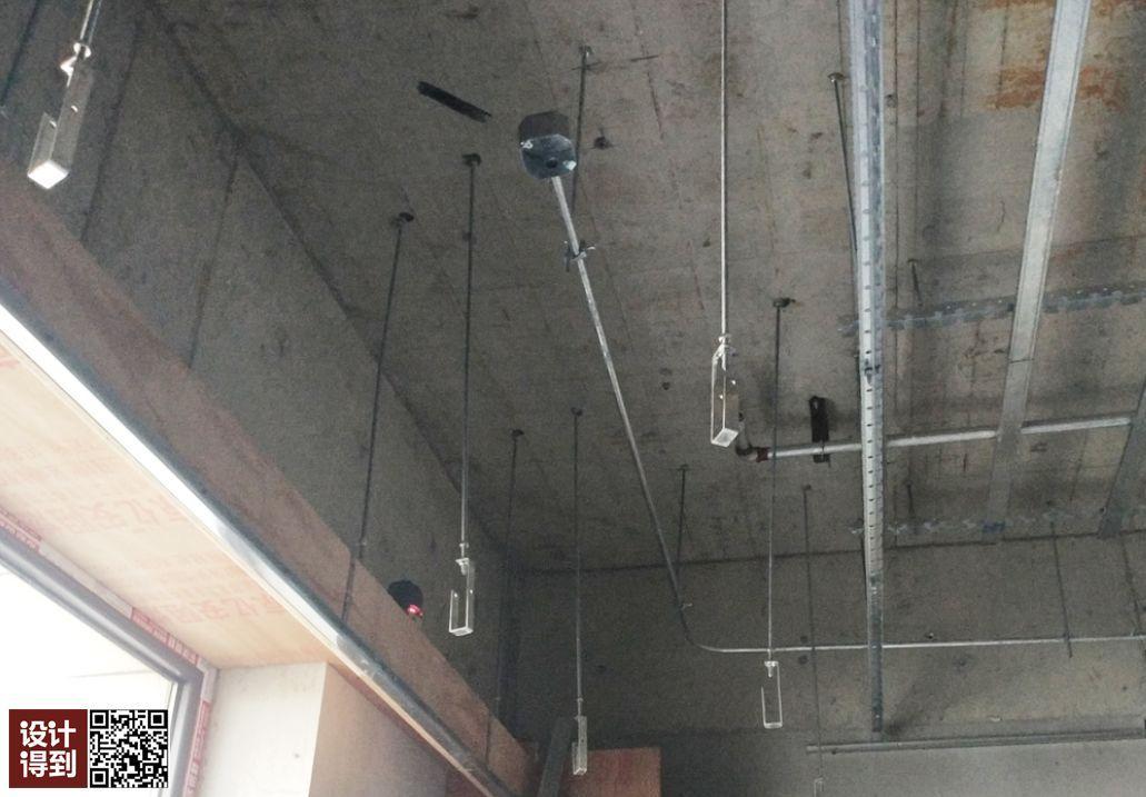 天花轻钢龙骨间距_吊顶系统的3个重点部位构造及工艺流程解析 - 知乎
