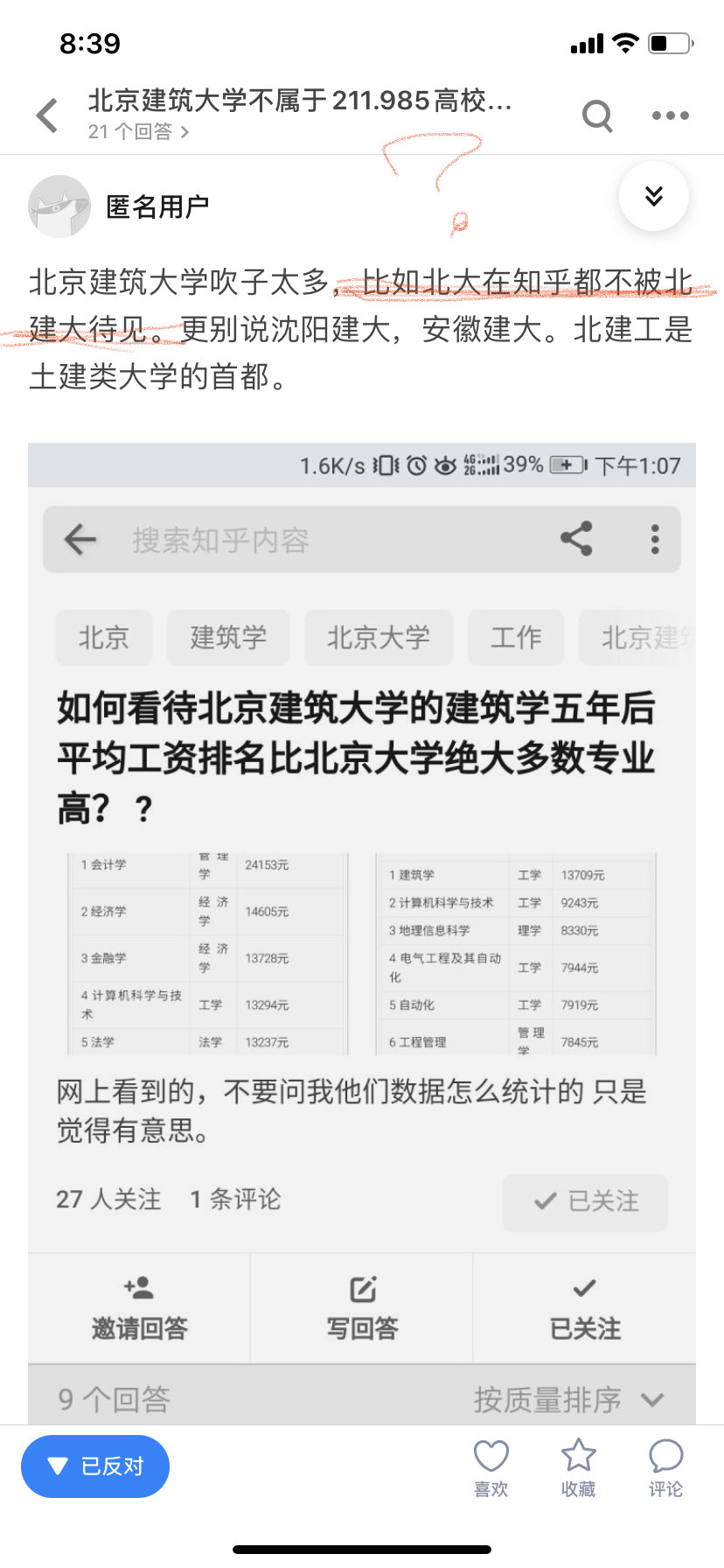 北京建筑大学分数线_北京建筑大学不属于211.985高校,为什么分数线还这么高? - 知乎