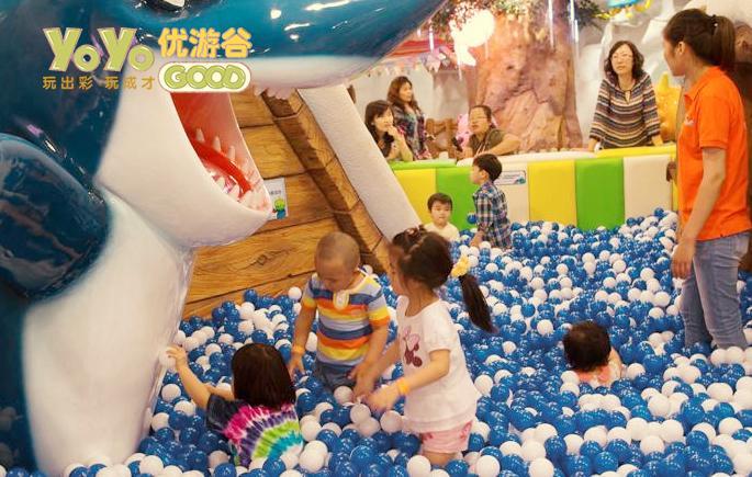 开一个儿童乐园淘气堡需要投资多少钱? 加盟资讯 游乐设备第1张