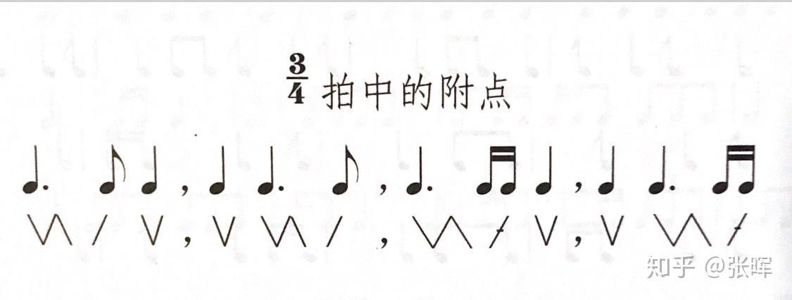 二拍子三拍子四拍子的强弱规律_拍子指挥图示的击点与线之间分别对应什么时值,对应第几拍 ...