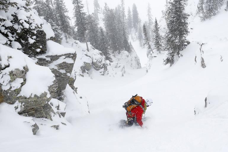 单板滑大山,你只需要知道这些(单板登山滑雪入门01)