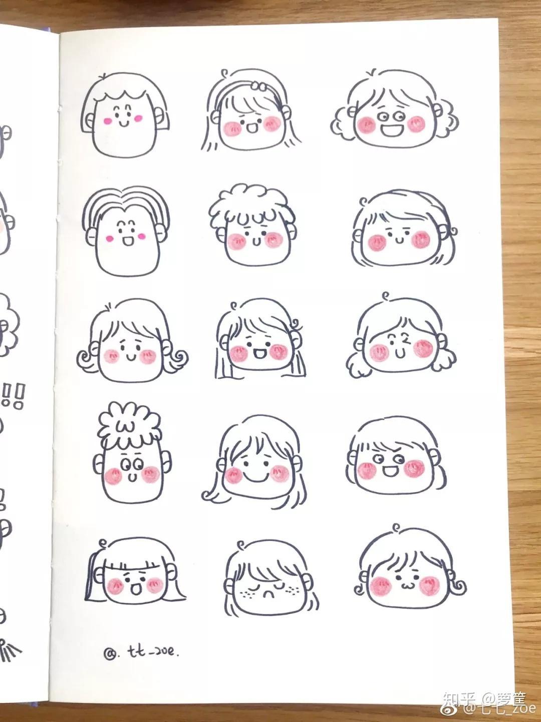 搞笑段子大全_简笔画 | 各种萌萌哒简笔画小头像,画法简单实用,适合零基础 ...