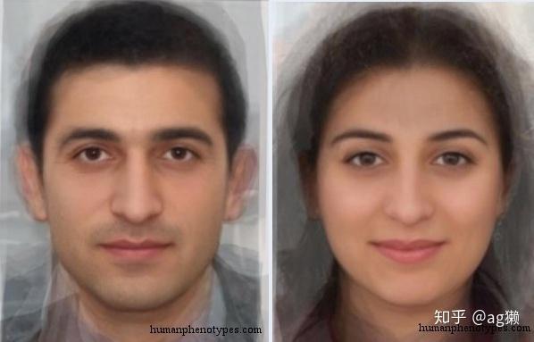 黎巴嫩在哪里_大陆彼端的人们:欧洲和地中海沿岸人的平均脸 - 知乎