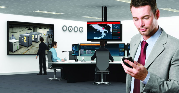 压缩空气系统与工业4.0和物联网