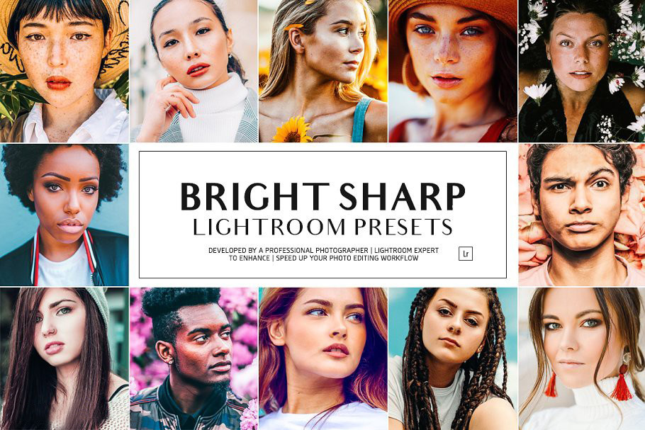 【S642】Instagram博主干净明亮Lightroom预设 Bright Sharp LR Presets