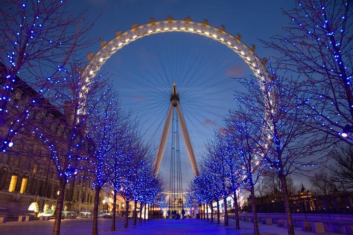伦敦景点攻略:伦敦眼(The London Eye)