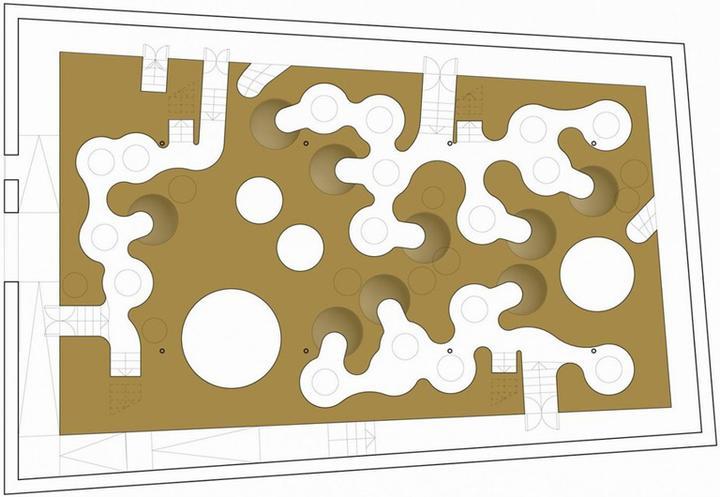 innotopia办公室装修-空间设计平面图