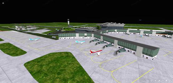 """我们离实在的三维可视化""""聪明机场""""还有多远?"""