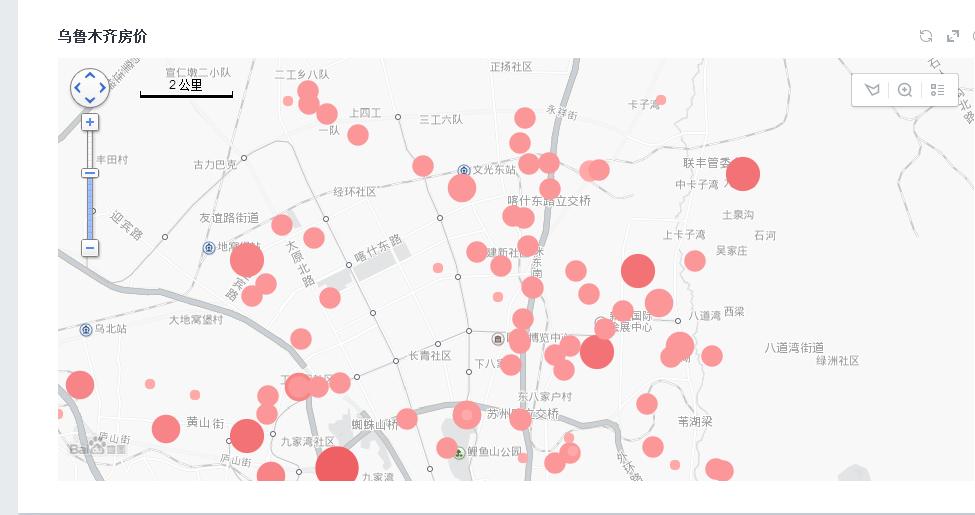 python爬取房产数据,在地图上展现
